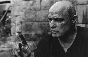 Marlon Brando during the filming of Apocalypse Now
