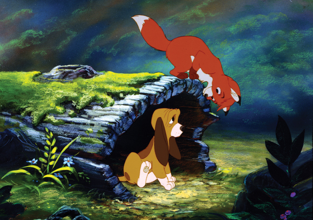 "So I bought my wife ""Fox and the Hound"" for Christmas because I ..."