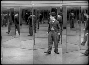 Charlie Chaplin stumbles into a labyrinth of torture