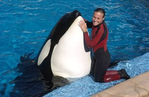 Dawn Brancheau and Tilikum