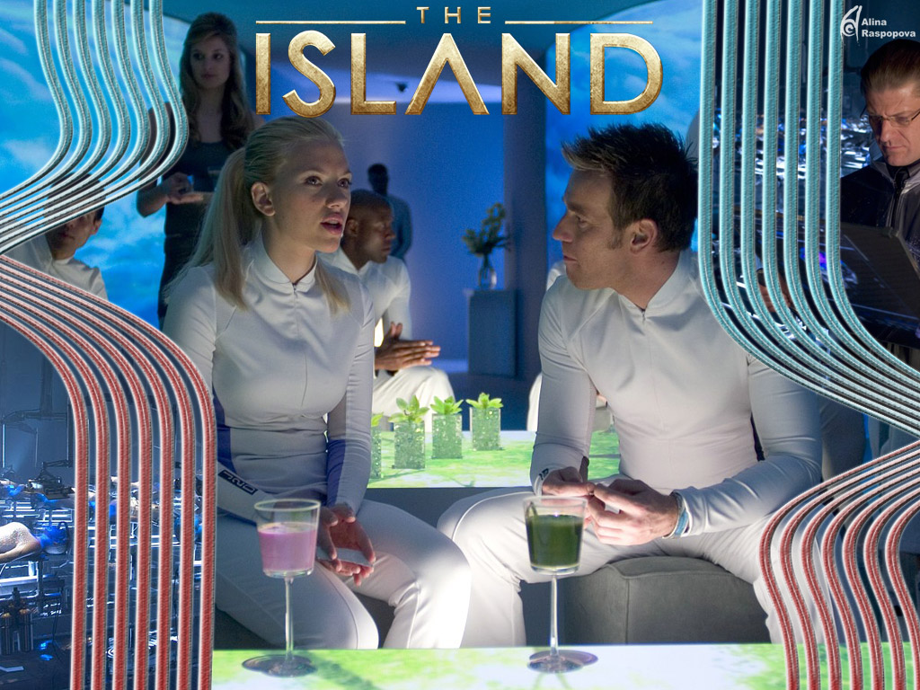the island movie He also escapes with a woman (scarlett johansson) who is about to be sent to the island the whole movie is basically set up to be a series of chase sequences.