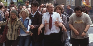 Scene from Shaun of the Dead