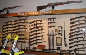 carnine williams gun collection