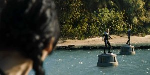hunger games island dive in