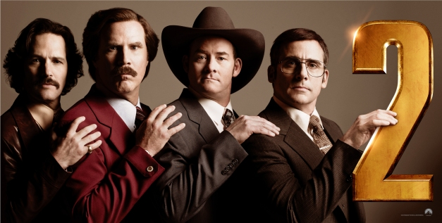 Anchorman 2: It's Either Me or the Job