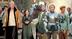 knights tale arrested