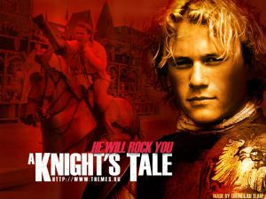 Knights Tale poster