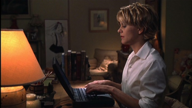 meg ryan typing