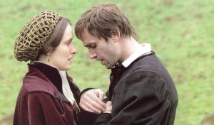 Luther's wife, Katharina, isn't in the film for long, but there's fantastic chemistry for the time she is.