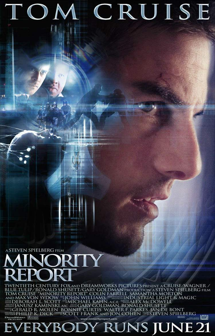 minority report dom or safety let there be movies minorityreportposter