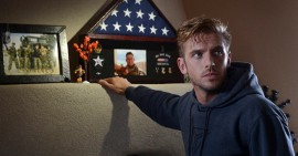 DAN STEVENS stars in the action thriller THE GUEST, opening in September.
