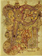 The Book of Kells, the Chi Rho page