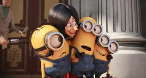 scarlett and minions