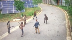 TWD S6E2 Morgan vs 5 guys