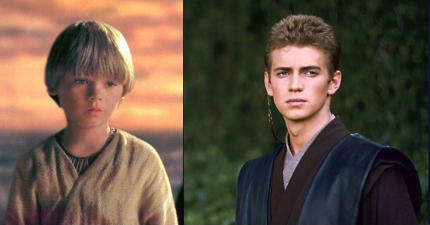 anakin young and old