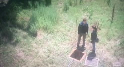 twd s6e5 aaron and maggie leaving