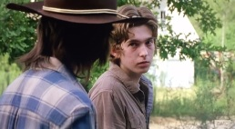 TWD S6E7 Ron and Carl